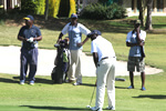 The inaugural Vice Chancellor's Innovation and Scholarship Fund Golf Tournament