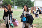 The korean delegation from handong global university arriving at the Harare Institute of Technology for the Global Entrepreneurship Training (Southern Africa) Zimbabwe 2016