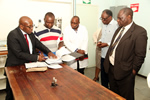 Pharmacy Council of Zimbabwe Inspects Department of Pharmacy Teaching Facilities