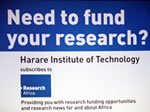 Research Africa team visits HIT