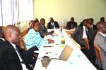 The Harare Institute of Technology Board and Senior Management Team review the HIT Strategy