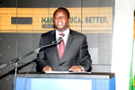 Vice Chancellor of HIT, Engineer Quinton Kanhukamwe
