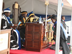 President Robert Mugabe conferred 164 graduates with degrees at the Harare Institute of Technology's Third graduation ceremony