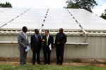 Solar Water Heating Plant Officially Handed Over to HIT
