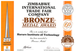 HIT Scoops Bronze: Supreme Zimbabwe Exhibition #ZITF2019